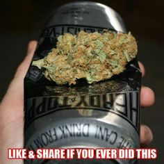 Ever smoke using a can? High Times, Vape, Canning, Smoke, Electronic Cigarette, Home Canning, Vaping, Smoking, Electronic Cigarettes