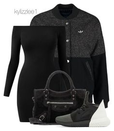 """Adidas"" by kylizzlee1 ❤ liked on Polyvore featuring adidas Originals, Balenciaga and adidas"