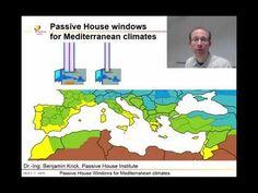 Passive House windows for mediterranean climates