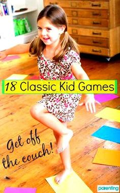 Get your kid moving with these fun games—she won't even realize she's getting exercise!