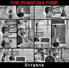"The Phantom Four - Morgana / Madhur (2x12"", 2013)"
