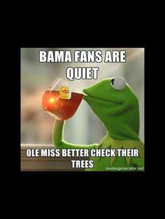 Ole Miss Beats Alabama 43 to 37 in Tuscaloosa! Rebels Win in 2014 and Hotty Toddy! Football Jokes, Auburn Football, Auburn Tigers, Ole Miss, Alabama, Rebel, Real Life, War, Beats