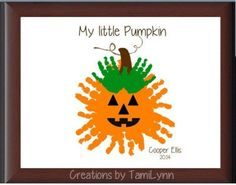 Crafts for vayda (fall crafts for kids handprints) Halloween Crafts For Kids, Halloween Activities, Halloween Costumes, Daycare Crafts, Baby Crafts, Kid Crafts, Fall Preschool, Preschool Crafts, Toddler Preschool
