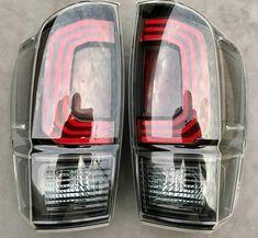 LED Tail Lights -Clear- 3rd Gen Tacoma - Limited Runs – MESO CUSTOMS LLC Tacoma Truck, Led Board, Led Tail Lights, Toyota Trucks, Toyota Tacoma, White Lead, Custom Design, Toyota Cars, Tacoma World