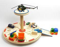 DOPLNĚK – Parkoviště a heliport | DomDom - dřevěné výrobky pro kreativní činnost, didaktické pomůcky, suvenýry Toothbrush Holder