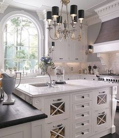 White Kitchen with Good Light.