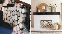 Cozy up! Make over your fireplace with these DIYs