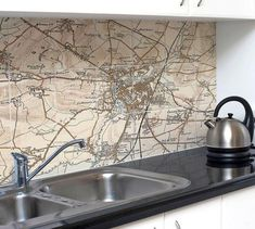 Ceramic Map Tiles - Personalised Vintage Ordnance Survey (Revised New Series) Explorer Map, Ordnance Survey Maps, British Standards, Tile Layout, Custom Map, Vintage Maps, Glass Kitchen, Home Projects, Glass Splashbacks