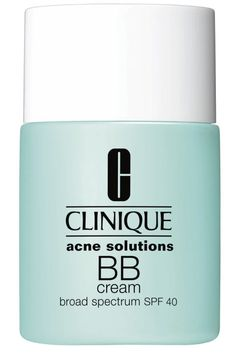 Breakout-prone? Try Clinique Acne Solutions BB Cream's lightweight tinted formula ($37). See all our skincare quick fixes here: