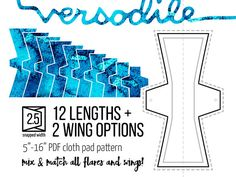 Sewing patterns to save you time! by Versodile Star Patterns, Pdf Sewing Patterns, Couches, Closer, Menstrual Pads, Cloth Pads, Unique Words, Lined Page, Pattern Mixing
