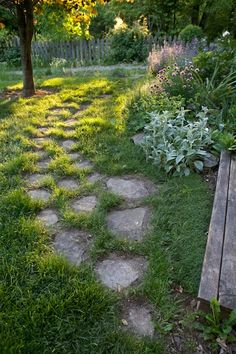 So beautiful, want a path to our chicken coop!