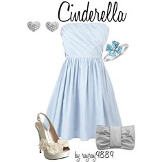 """Cinderella"" by mychemicalromancekilljoy on Polyvore"