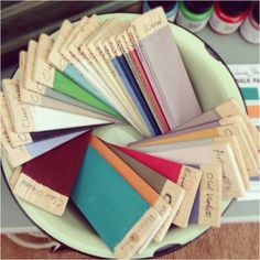 All our lovely Annie Sloan colours...