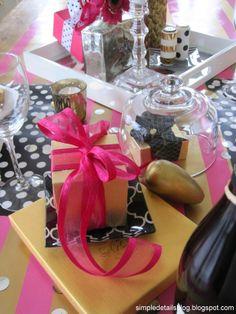 kate spade inspired valentine table...