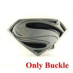1b5feca9465 Retail wholesale SUPERMAN Superhero Belt Buckles metal FASHION Cool Belt  Buckles for belt Hebilla 45 Mm