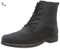Ecco  ECCO TOUCH 25 B, Bottes Combat de hauteur moyenne, doublure froide femmes - Noir - Noir, Taille 40 EU - Chaussures ecco (*Partner-Link)
