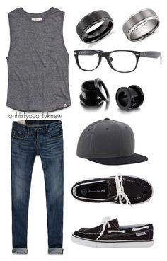 """""""Untitled #160"""" by ohhhifyouonlyknew ❤ liked on Polyvore featuring Abercrombie & Fitch, Ray-Ban, Blue Nile, glasses, my style, american eagle, summer, my creations, awesome and dyke"""