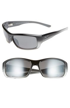 fe91e359df4241 MAUI JIM BARRIER REEF 62MM POLARIZEDPLUS2 SUNGLASSES - BLACK  GREY.  mauijim