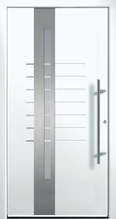 Modern Entry Doors - Modern Entry Door Modern Entry Door, Modern Exterior Doors, Entry Doors, Iron Windows, Iron Doors, Home Stairs Design, Home Room Design, Modern Windows And Doors, Modern Driveway