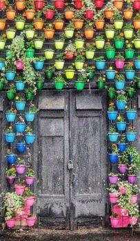 Rainbow Flower Pots (45 pieces)