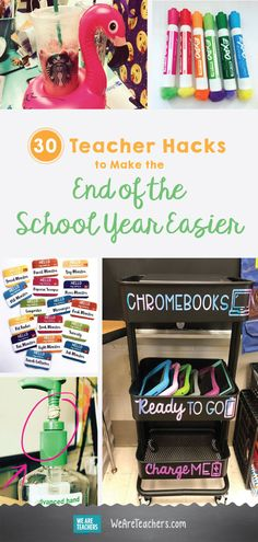 30 Teacher Hacks to Make the End of the School Year Easier