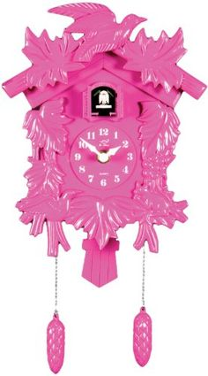 Amazon.com: Molly 'N Me Pink Cuckoo Clock: Toys & Games