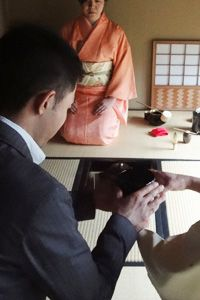Japanese tea ceremony orgy
