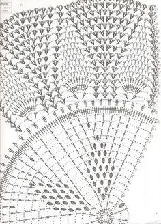 59 Ideas For Crochet Shawl Poncho Book Crochet Doily Diagram, Crochet Doily Patterns, Crochet Mandala, Crochet Chart, Filet Crochet, Irish Crochet, Crochet Motif, Crochet Doilies, Knit Crochet