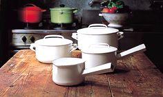 Noda Horo Nomaku Series pots, from Japanese product designer Koji Yamada.