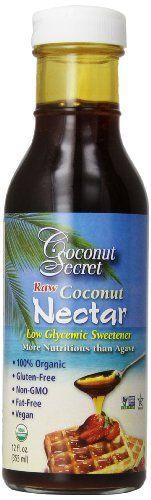 Coconut Secret - Raw Coconut Nectar Low Glycemic Sweetener