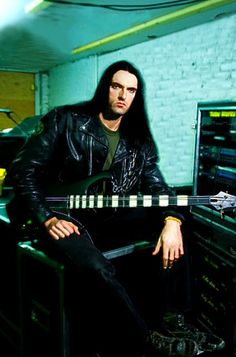 Peter Steele in the sound lab.
