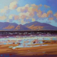 'Arran from Maidens' by Ed Hunter, £550