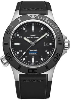 Glycine Combat SUB Combat Sub Aquarius Watch at a special price on Klepsoo. See more about Combat SUB Combat Sub Aquarius Watches, choose your favourite and buy now your Glycine Watch. Sport Watches, Cool Watches, Watches For Men, Trendy Watches, Men's Watches, Jewelry Watches, Aquarius, Glycine Combat, Swiss Luxury Watches