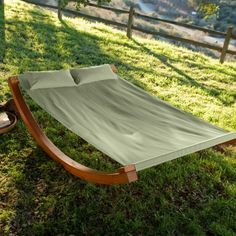 Wave Rocker Hammock in the backyard, drink in hand............