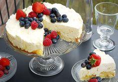 Limão e merengue Freezer Cake - Forman & Field Jubilee Bake Off ~ Katiecakes
