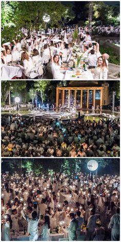 Diner en Blanc - Mexico City, Mexico 2015