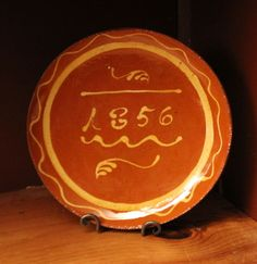 """DTS-0414-45 - NEW!<BR> Simple Slip """"1856"""" Plate"""