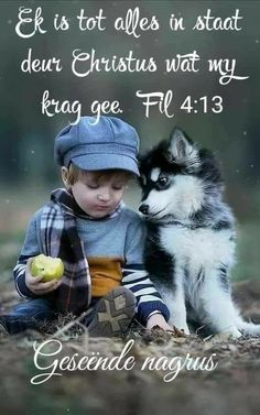 Good Night Sleep Tight, Good Night Blessings, Goeie Nag, Goeie More, Special Quotes, Prayer Quotes, Afrikaans, Christian Quotes, Pet Dogs