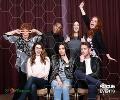 Giancarlo Esposito, Meghan Ory, Beverly Elliott, Rebecca Mader, Lana Parrilla and Sean Maguire at #LondonCon (22 to 24 April)