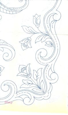 Cutwork Embroidery, Embroidery Patterns, Vintage Patterns, Doodles, Abaya Designs, Diy Crafts, Sewing, Cross Stitch Embroidery, Napkins