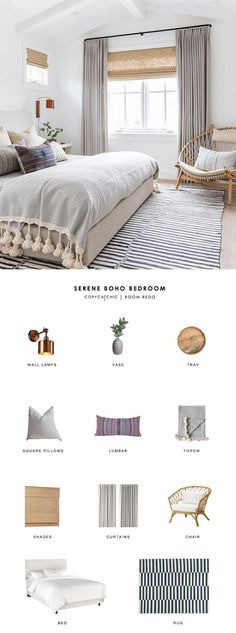 Room Redo | Serene Boho Bedroom