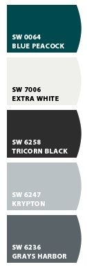 Made with Sherwin Williams Chip it