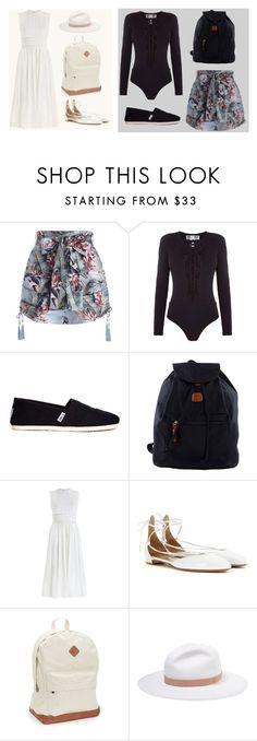 """SKAM fashion 7 (Hikari Ai)"" by hikari-ai on Polyvore featuring мода, Zimmermann, TOMS, Bric's, Aquazzura, Aéropostale и rag & bone"