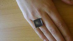 kikulienka9 / Zahmlený mesiac - prsteň Druzy Ring, Fantasy, Rings, Jewelry, Jewlery, Jewerly, Ring, Schmuck, Jewelry Rings