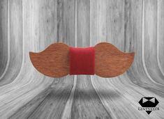 Gent's Club Moustache Bowtie Bowtie #bowtie #gentsclub #fashion #gentlemanstyle #style #accessories #wood Club