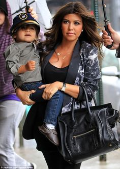 Mason is just tooo adorable! and Kourtney looks fab as well