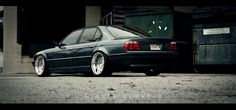 Stance Works is a huge community of dropped, hellaflush and slammed cars. See best cars compilation from there: Stance Works Slammed Cars, Bmw E38, E46 M3, Ride 2, Bmw 7 Series, Mini Trucks, Bmw Cars, Car Ins, Automobile