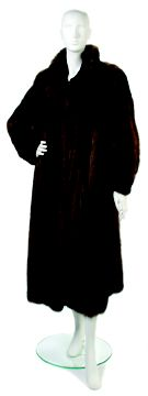 A Brown Sable Fur Coat     Labeled Neiman Marcus