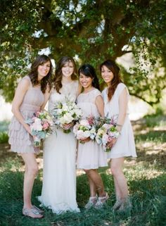 Chic California Park Wedding From James Christianson Wedding Poses, Diy Wedding, Bridesmaid Dresses, Wedding Dresses, Bridesmaids, Park Weddings, Floral Bouquets, Love And Marriage, Boutonnieres