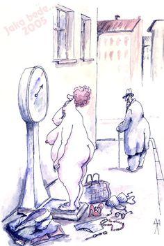 Międzynarodowy Konkurs na rysunek JAKA BEDE...2005 - humor satyra cartoon cartoonist rysunki polityka karykatura wystawy